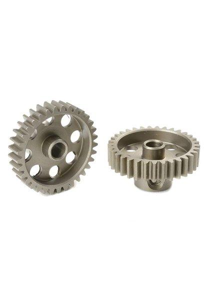 Team Corally - 48 DP Motortandwiel - Kort - Gehard staal - 33 Tanden - Motoras dia. 3.17mm