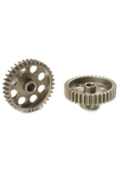 Team Corally - 48 DP Motortandwiel - Kort - Gehard staal - 36 Tanden - Motoras dia. 3.17mm