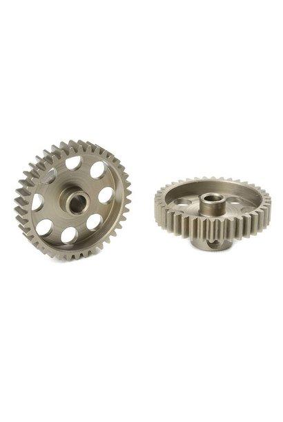 Team Corally - 48 DP Motortandwiel - Kort - Gehard staal - 38 Tanden - Motoras dia. 3.17mm