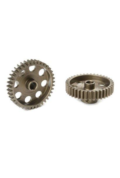 Team Corally - 48 DP Motortandwiel - Kort - Gehard staal - 39 Tanden - Motoras dia. 3.17mm