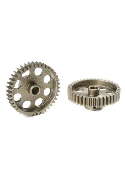 Team Corally - 48 DP Motortandwiel - Kort - Gehard staal - 40 Tanden - Motoras dia. 3.17mm