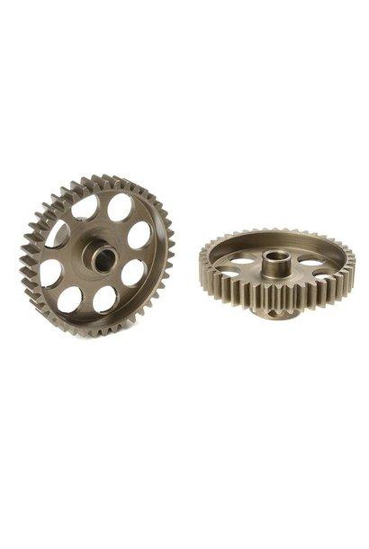 Team Corally - 48 DP Motortandwiel - Kort - Gehard staal - 42 Tanden - Motoras dia. 3.17mm