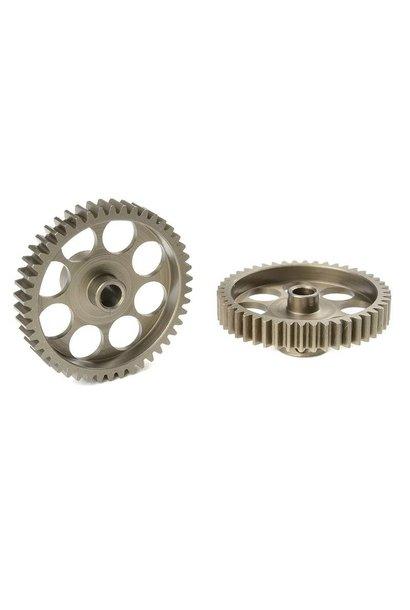 Team Corally - 48 DP Motortandwiel - Kort - Gehard staal - 46 Tanden - Motoras dia. 3.17mm