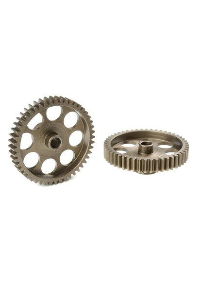 Team Corally - 48 DP Motortandwiel - Kort - Gehard staal - 48 Tanden - Motoras dia. 3.17mm