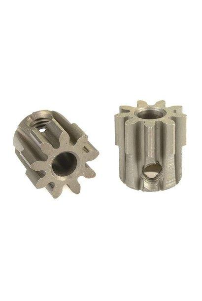 Team Corally - 32 DP Motortandwiel - Kort - Gehard staal - 9 Tanden - Motoras dia. 3.17mm