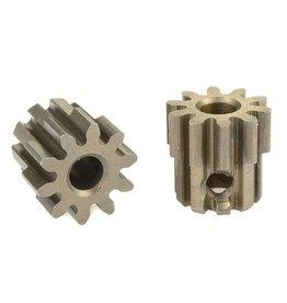 Team Corally Team Corally - 32 DP Motortandwiel - Kort - Gehard staal - 10 Tanden - Motoras dia. 3.17mm