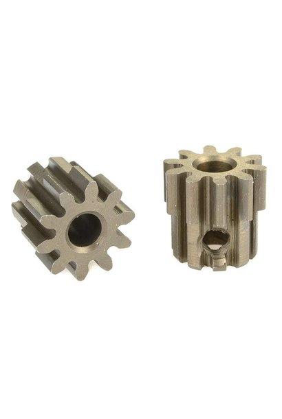 Team Corally - 32 DP Motortandwiel - Kort - Gehard staal - 10 Tanden - Motoras dia. 3.17mm