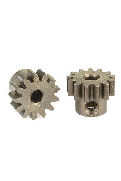 Team Corally - 32 DP Motortandwiel - Kort - Gehard staal - 13 Tanden - Motoras dia. 3.17mm