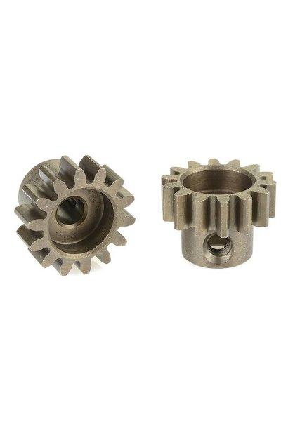 Team Corally - 32 DP Motortandwiel - Kort - Gehard staal - 14 Tanden - Motoras dia. 3.17mm