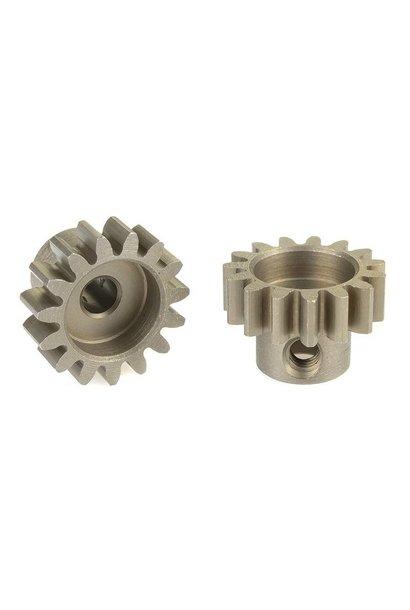 Team Corally - 32 DP Motortandwiel - Kort - Gehard staal - 15 Tanden - Motoras dia. 3.17mm