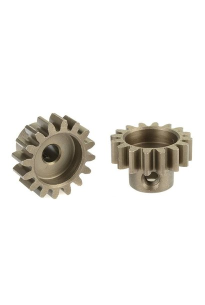 Team Corally - 32 DP Motortandwiel - Kort - Gehard staal - 16 Tanden - Motoras dia. 3.17mm