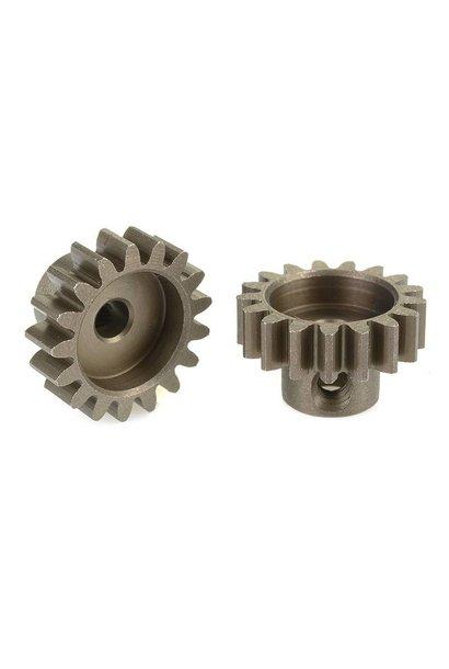 Team Corally - 32 DP Motortandwiel - Kort - Gehard staal - 17 Tanden - Motoras dia. 3.17mm