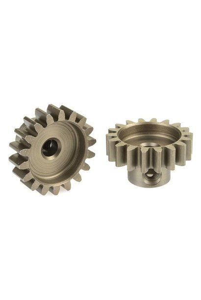 Team Corally - 32 DP Motortandwiel - Kort - Gehard staal - 18 Tanden - Motoras dia. 3.17mm