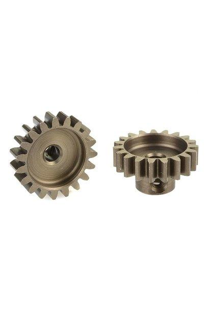 Team Corally - 32 DP Motortandwiel - Kort - Gehard staal - 19 Tanden - Motoras dia. 3.17mm