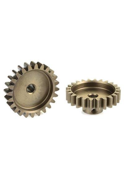 Team Corally - 32 DP Motortandwiel - Kort - Gehard staal - 24 Tanden - Motoras dia. 3.17mm
