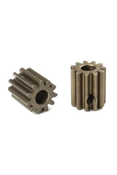 Team Corally - M0.6 Motortandwiel - Kort - Gehard staal - 11 Tanden - Motoras dia. 3.17mm