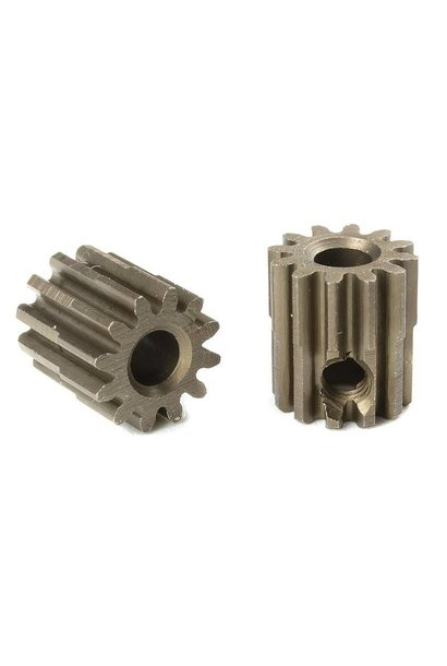 Team Corally - M0.6 Motortandwiel - Kort - Gehard staal - 12 Tanden - Motoras dia. 3.17mm