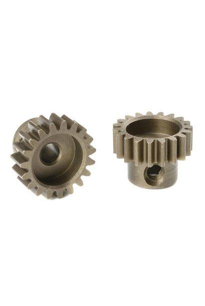 Team Corally - M0.6 Motortandwiel - Kort - Gehard staal - 19 Tanden - Motoras dia. 3.17mm