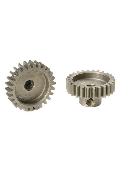 Team Corally - M0.6 Motortandwiel - Kort - Gehard staal - 26 Tanden - Motoras dia. 3.17mm