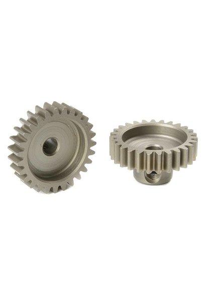 Team Corally - M0.6 Motortandwiel - Kort - Gehard staal - 27 Tanden - Motoras dia. 3.17mm
