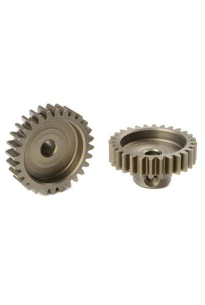 Team Corally - M0.6 Motortandwiel - Kort - Gehard staal - 28 Tanden - Motoras dia. 3.17mm