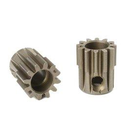 Team Corally Team Corally - 32 DP Motortandwiel - Kort - Gehard staal - 12 Tanden - Motoras dia. 5mm