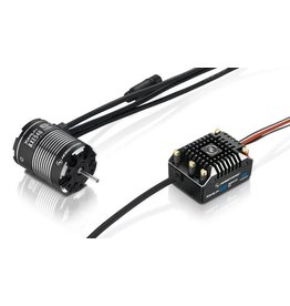 Hobbywing Hobbywing Combo XeRun AXE540 1200kv FOC Sensored Brushless System V1.1
