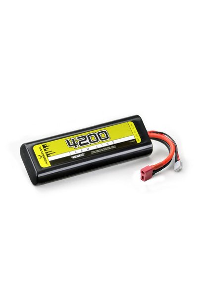 Lipo 2S 7,4V. 30C 4200 HC (T-Plug)