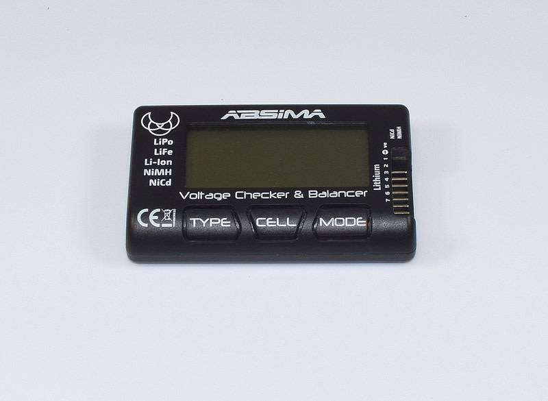 Battery Voltage Checker and Balancer-1