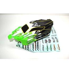 Absima Body green/black Buggy AB2.4 RTR