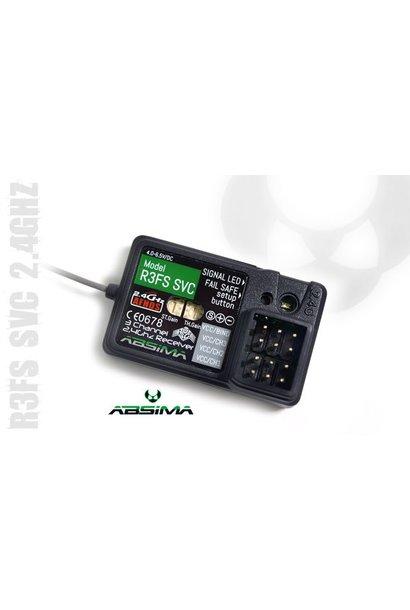 "3-Channel Receiver ""R3FS SVC"" 2.4 GHz"