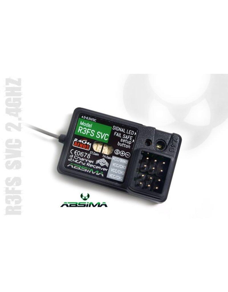 "Absima 3-Channel Receiver ""R3FS SVC"" 2.4 GHz"