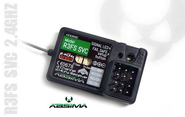 "3-Channel Receiver ""R3FS SVC"" 2.4 GHz-1"