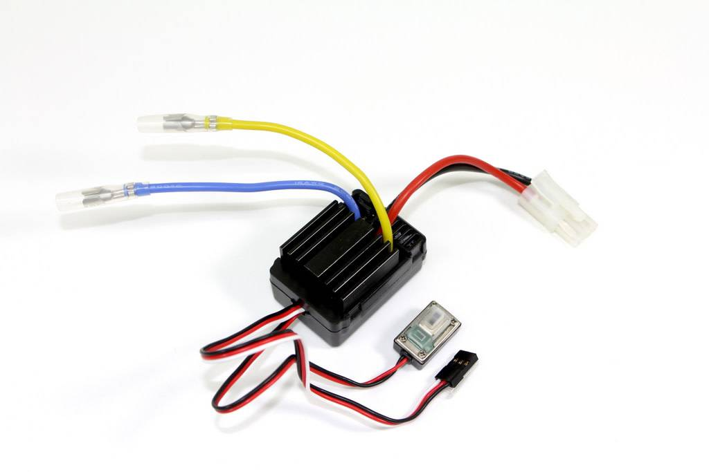 Brushed ESC 40A waterproof Sand Buggy-1