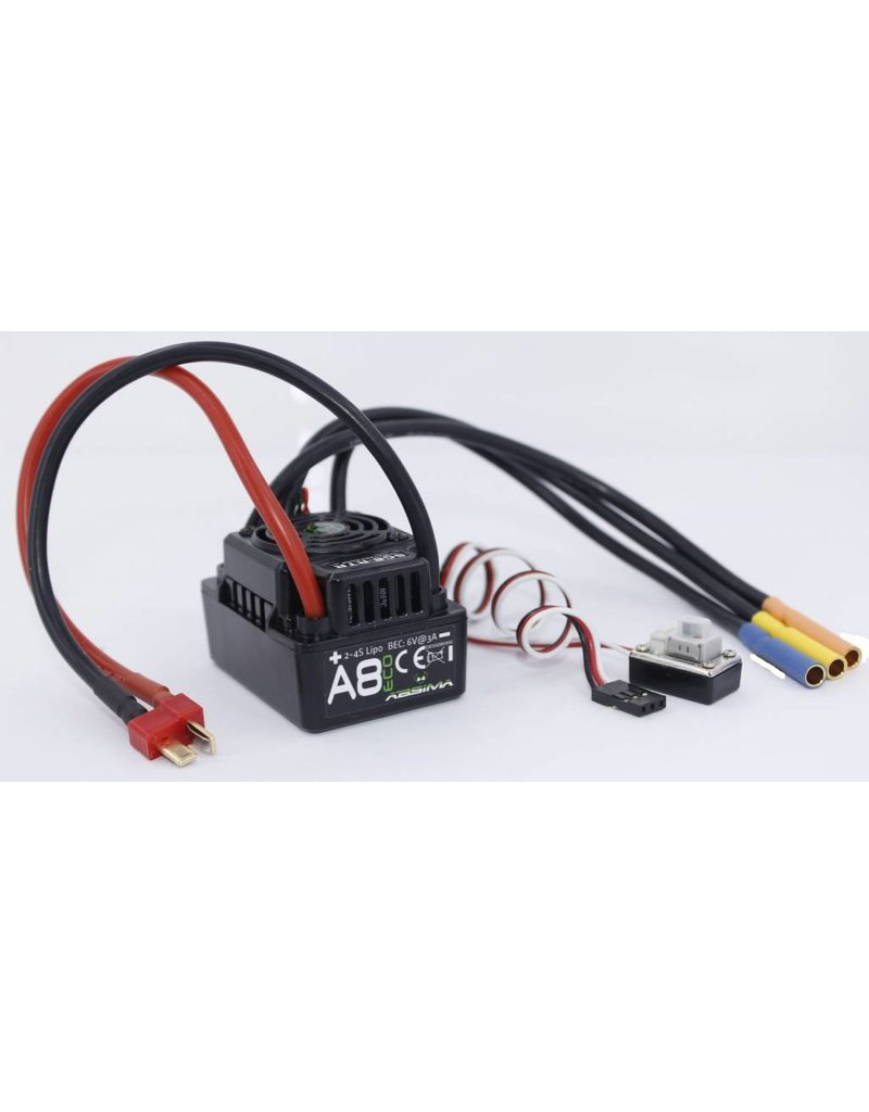 "Absima Brushless ESC ""Thrust A8 ECO"" 120A 1:8 waterproof"