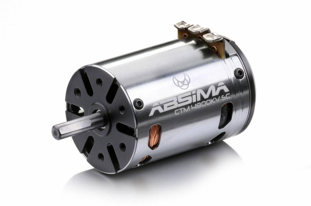 """Brushless Motor 1:10 """"Revenge CTM"""" 4800KV SC 4-p.-1"""