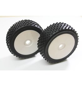 "Absima Wheel Set Buggy ""Disc / Dirt"" white 1:8 (2 pcs)"