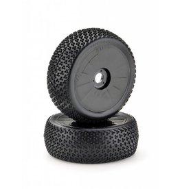 "Absima Wheel Set Buggy ""Disc"" black 1:8 (2)"