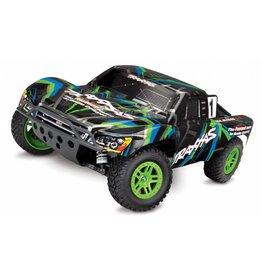 Traxxas Traxxas Slash 4X4 XL-5 TQ incl. accu en lader, Green TRX68054-1G