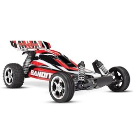 Traxxas Traxxas Bandit XL-5 TQ (incl. battery/charger), Red, TRX24054-1R