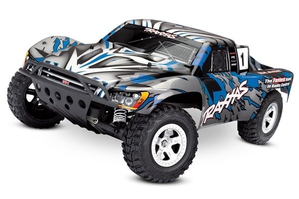 Traxxas Slash 2WD XL-5 TQ (no battery/charger), Blue, TRX58024-B-2