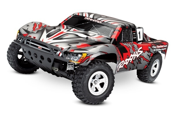 Traxxas Slash 2WD XL-5 TQ (no battery/charger), Red, TRX58024-R-2
