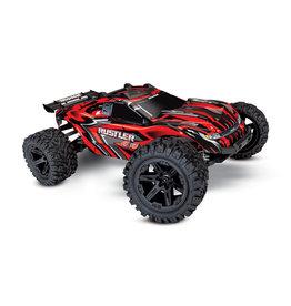 Traxxas Traxxas Rustler 4x4 XL-5 TQ (incl battery/charger), Red, TRX67064-1R