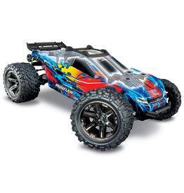 Traxxas Traxxas Rustler 4X4 VXL TQi TSM (no battery/charger), Red, TRX67076-4R