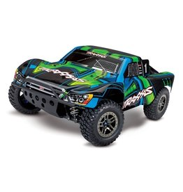 Traxxas Traxxas Slash 4X4 Ultimate LCG VXL TQi TSM excl. accu/lader, Green TRX68077-4G
