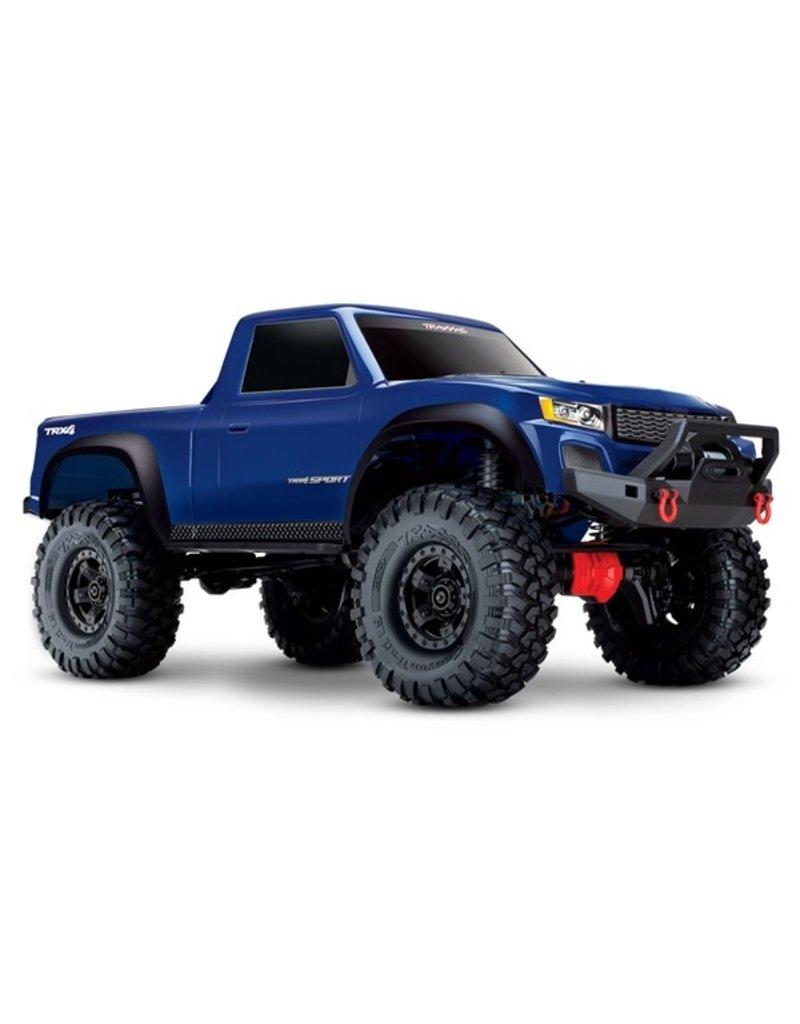 Traxxas Traxxas TRX-4 Sport Crawler TQ XL-5 (no battery/charger), Blue