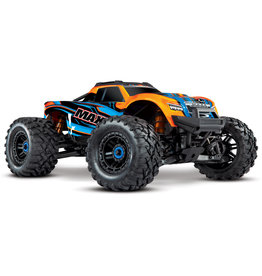 Traxxas Traxxas Maxx 1/10 Scale 4WD Brushless Electric Monster, VXL-4S, TQi - ORANGE
