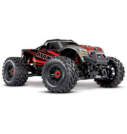 Traxxas Traxxas Maxx 1/10 Scale 4WD Brushless Electric Monster Truck, VXL-4S, TQi - RED