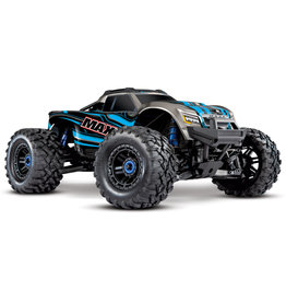 Traxxas Traxxas Maxx 1/10 Scale 4WD Brushless Electric Monster Truck, VXL-4S, TQi - BLUE