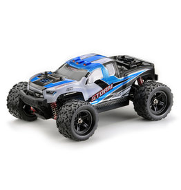 Absima Scale 1:18 4WD High Speed Monster Truck, 2,4GHz Blue